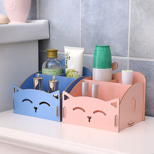Cute Wooden Storage Box for Accessories