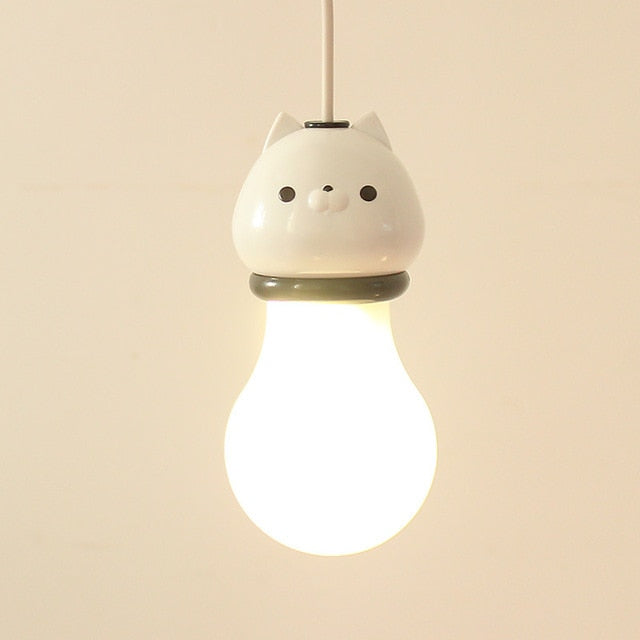 Cute LED Kitty Bulbs
