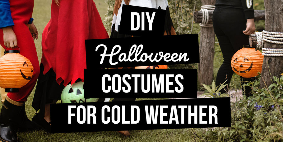 6 DIY Halloween costumes for cold weather