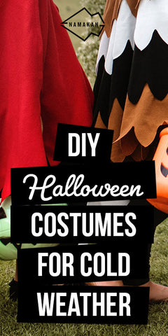 Perfect DIY Halloween costumes for cold weather.