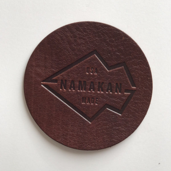 Namakan + MN Leather Works coaster