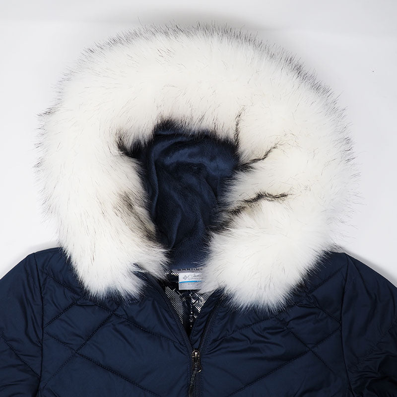 White Faux Arctic Fox Fur