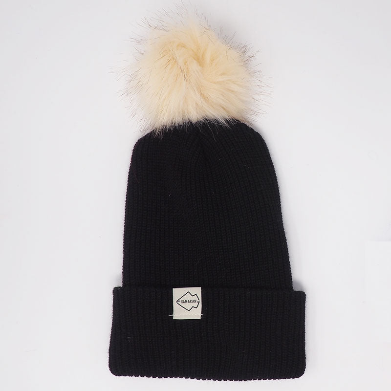 Black + Cream Hat Combo