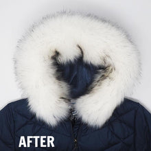 White Faux Arctic Fox Fur - parka faux fur trim