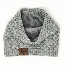 Faux Fur Lined Neck Buff - 6 Colors!