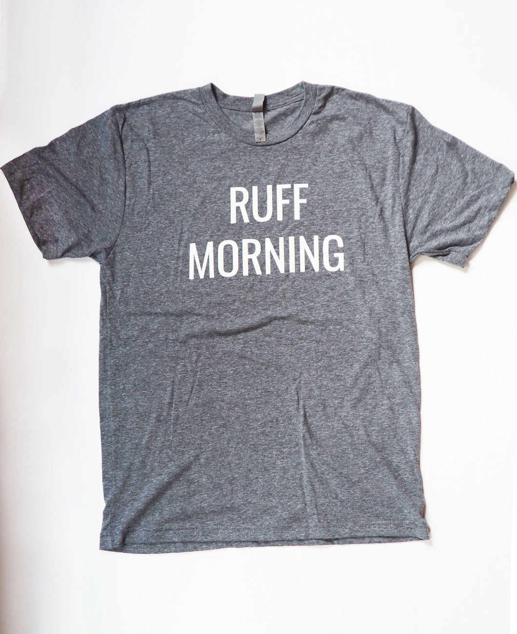 Men's Ruff Morning Tee - Namakan Fur