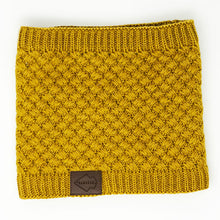 Mustard Fleece Lined Neck Buff