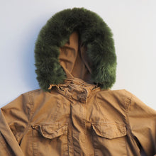 The Olive Ruff - Army Green Faux Fur Parka