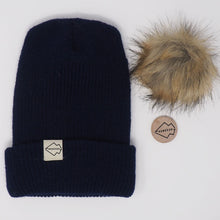 Navy + Natural Hat Combo