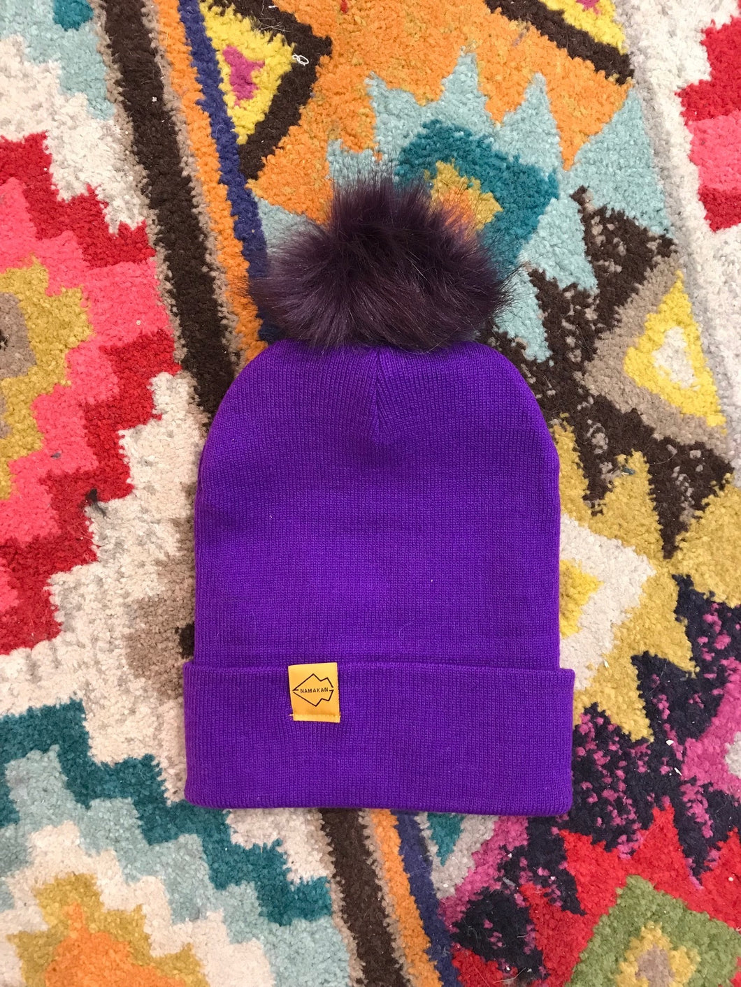 Special Edition SKOL Hats! Vikings pom pom hat purple gold