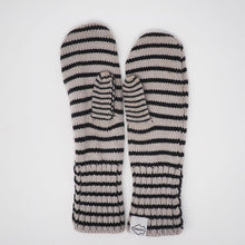 Chopper Mittens with Stripe Liner