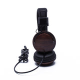 Boosted Acoustic Headphones in Black Walnut Wood