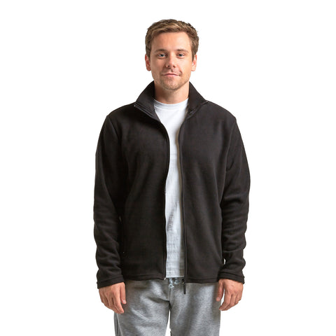 Something Fleece in Black