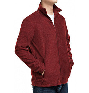 Something Fleece in Burgundy