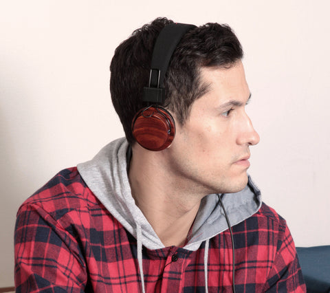 Boosted Acoustic Headphones in Rosewood