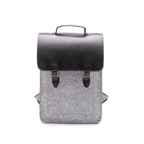 Something Sleek Felt Backpack