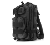 Something Tactical Military Style Backpack in Charcoal