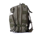 Something Tactical Military Style Backpack in Green