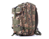 Something Tactical Military Style Backpack in Green Camo