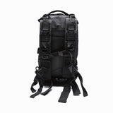 Fully Loaded Tactical Military Style Backpack in Charcoal