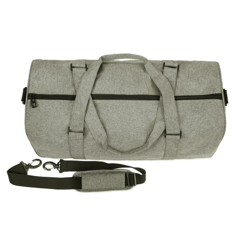 Zandago Duffel in Light Grey