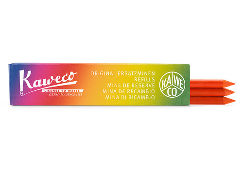 Kaweco Pencil Leads 5.6mm x 80mm - Highlighter Orange (3 pack)