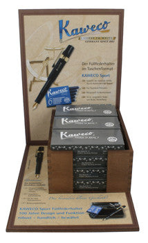 Kaweco Wooden Display with 12 Classic Sport Gift Sets
