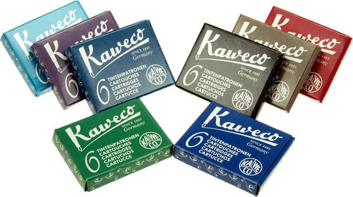 Kaweco Ink Cartridges - International Standard Size Ink Cartridges - we love pens