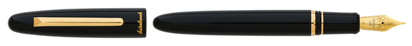 Esterbrook Estie Fountain Pen - Ebony / Gold