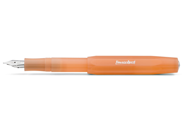 Kaweco Frosted Sport Fountain Pen - Soft Mandarine
