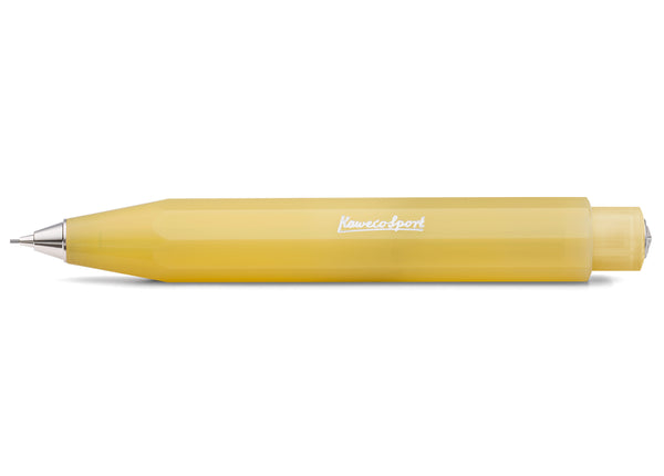 Kaweco Frosted Sport Push Pencil (0.7mm lead) - Sweet Banana