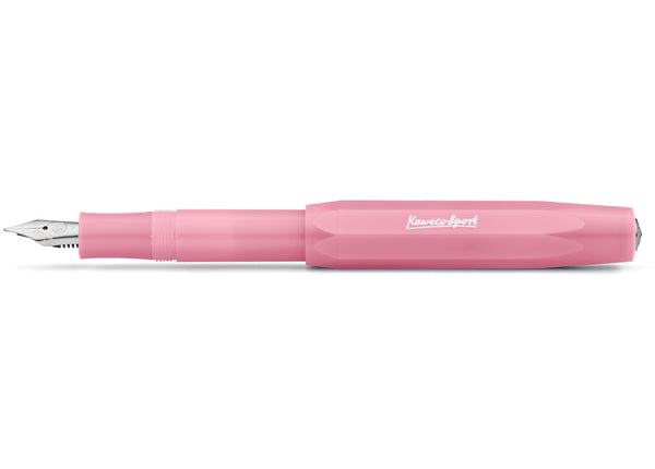 Kaweco Frosted Sport Fountain Pen - Blush Pitaya