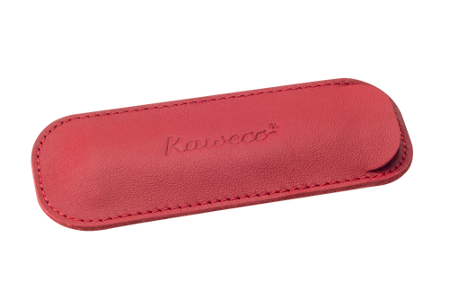 Kaweco ECO Leather Pouch for 2 Sport Series Pens - Chilli Pepper