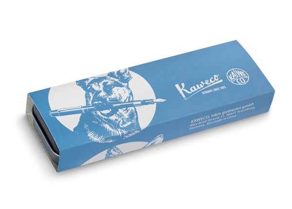 Kaweco Tin Slipcase Cover - German Shepherd - Long