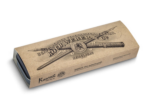 Kaweco Tin Slipcase Cover - Historic - Long