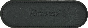 Kaweco Buffalo Leather Eco Pen Pouch for 2 Liliput Series Pens - Black