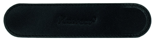 Kaweco ECO Leather Pen Pouch for 1 Long Pen - Black Pen Pouches - we love pens