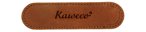 Kaweco Eco Leather Pen Pouch for 1 Liliput Series Pen - Cognac Brown