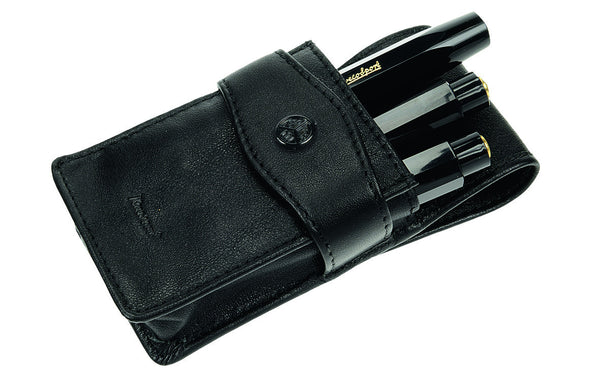 Kaweco Flap Pen Pouch for 3 Sport Series Pens - Black Pen Pouches - we love pens