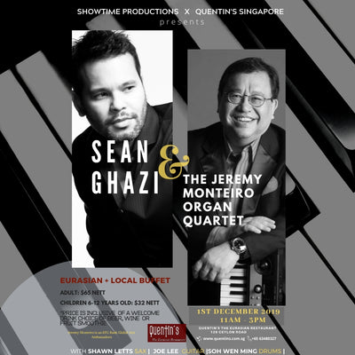 Jazzy Sunday Buffet with Sean Ghazi and The Jeremy Monteiro Organ Quartet