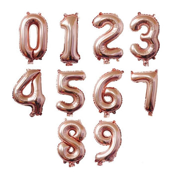 Number Foil Balloons