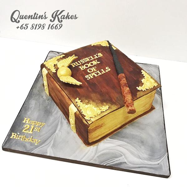 Harry Potter's Book of Spells Kake