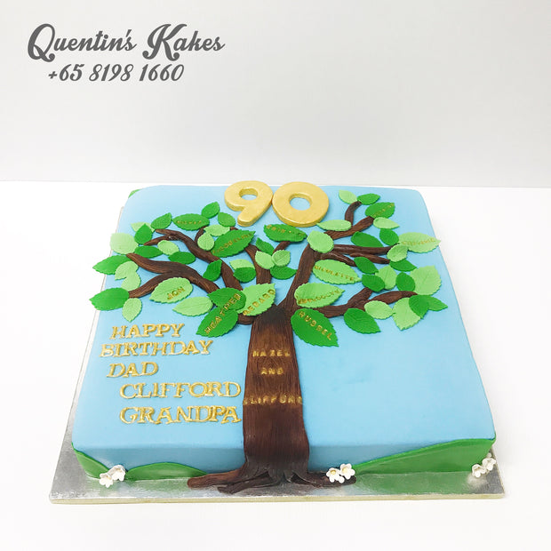 Tree of life Kake