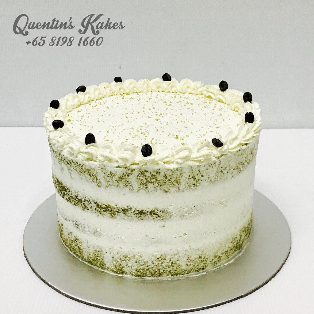 Green Tea & Cream Cake