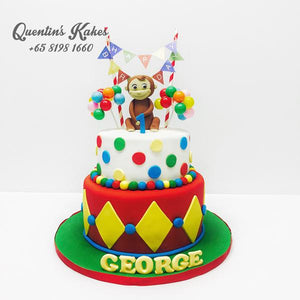 Curious George Kake
