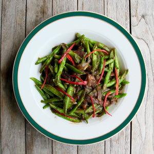Long Beans with Beef