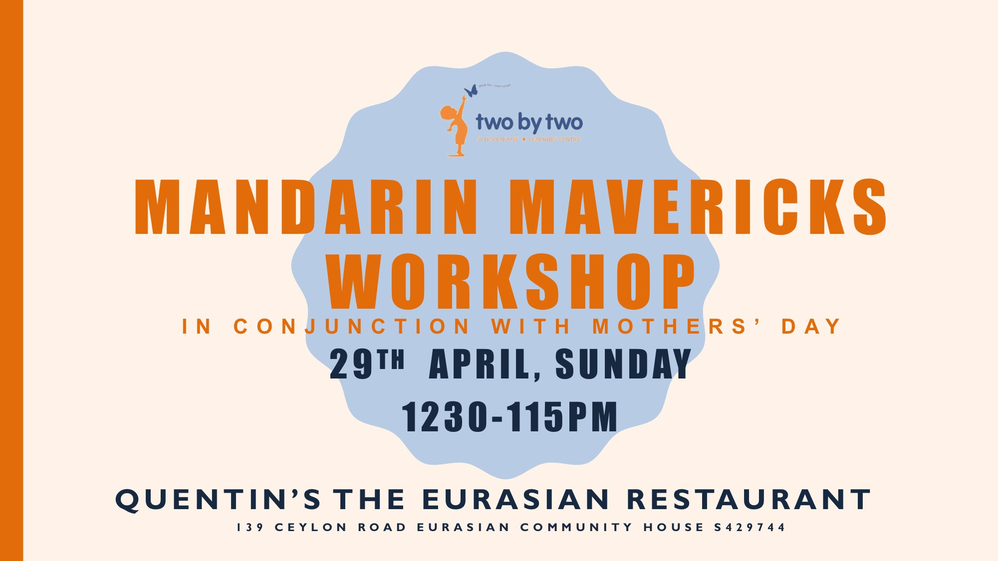 Mandarin Mavericks Workshop