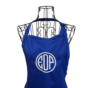 Personalized aprons for women, monogrammed aprons, Mother's Day Gift