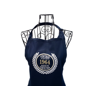Personalized Embroidered Aged To Perfection Apron