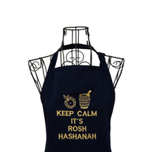 Load image into Gallery viewer, Funny Embroidered Jewish Holiday Apron, Rosh Hashanah Apron